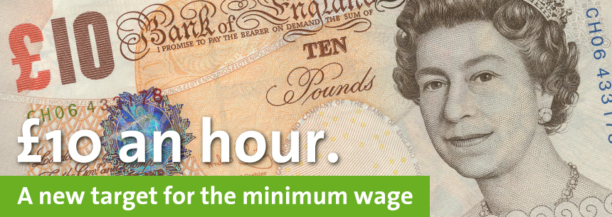 A minimum wage, a living wage